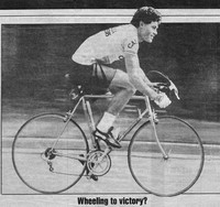 Mississauga News bicycle racer