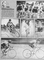 Mississauga News Focus column featuring bicycle race