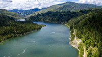 The Pend d'Oreille River of British Columbia Canada