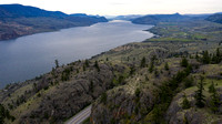 The Trans Canada Highway near Kamloops British Columbia